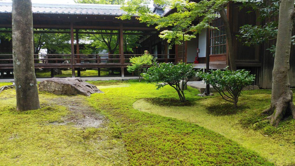 建仁寺の潮音庭