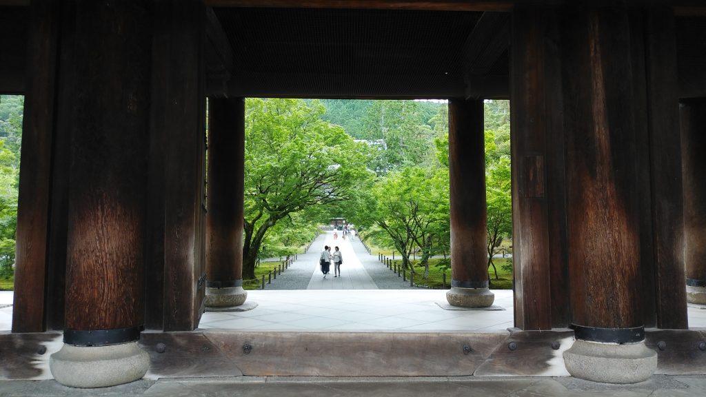 南禅寺三門の柱