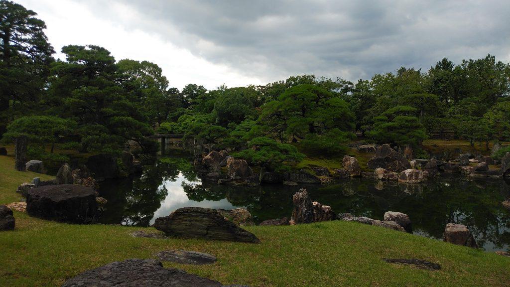 二条城の清流園