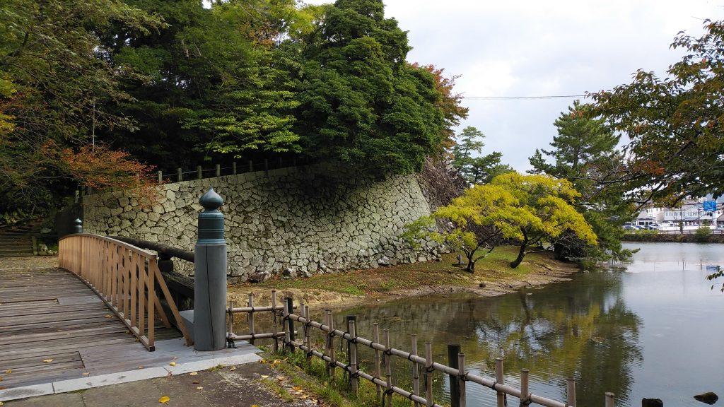 松江城へ通じる千鳥橋